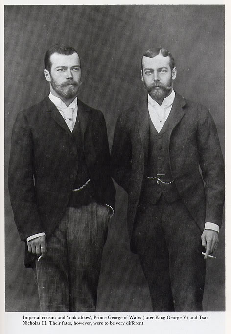 George V and Tsar Nicholas